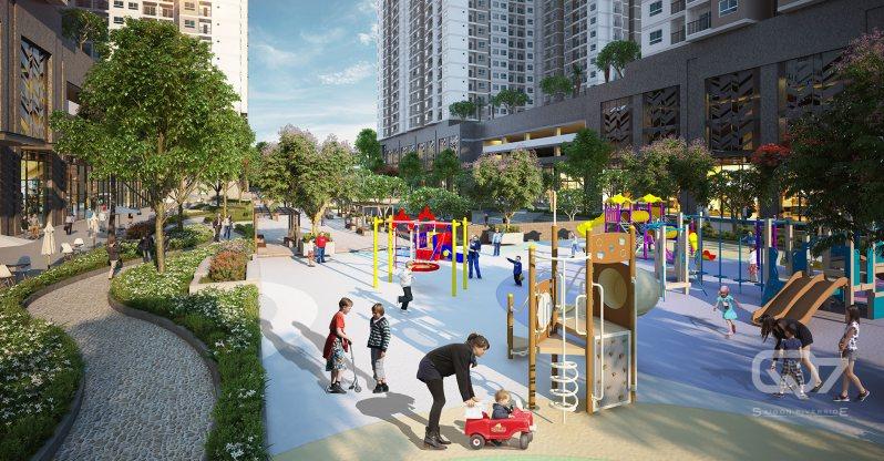Khu vui chơi Q7 Sai Gon Riverside Complex