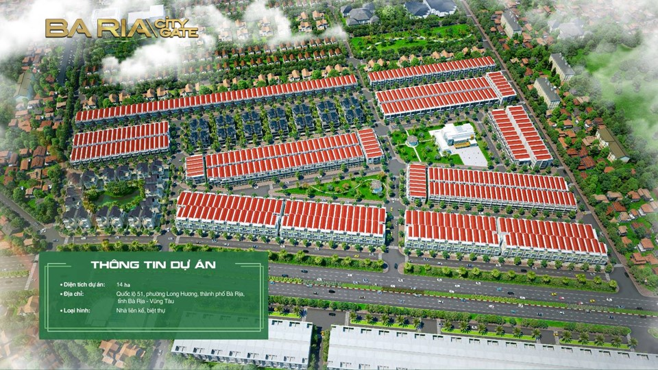 Quy hoạch tổng thể Ba Ria City Gate