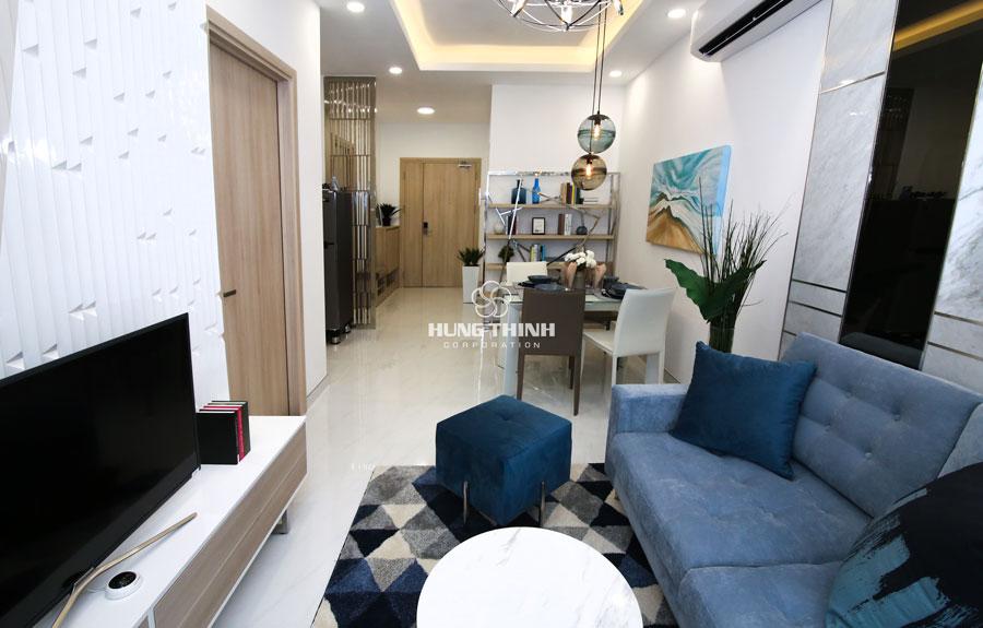 Bán căn hộ sắp bàn giao Q7 Sai Gòn Riverside 1PN, view sông