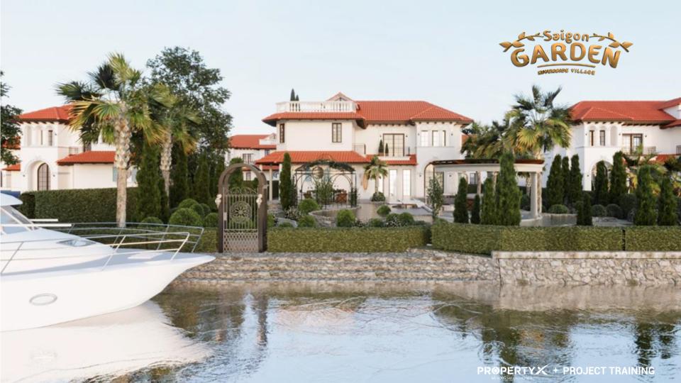 SAIGON GARDEN RIVERSIDE VILLAGE Q9 I HƯNG THỊNH I biệt thự vườn bên sông