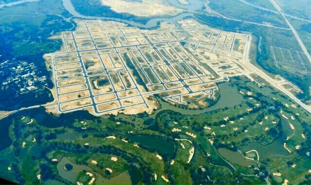 Bán nền biệt thự khu 1 Biên Hòa New City, lô kế góc, sát sông, diện tích 238m2 (14×17)
