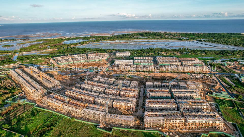 Cập nhật tiến độ Lavida Residences T7/2021