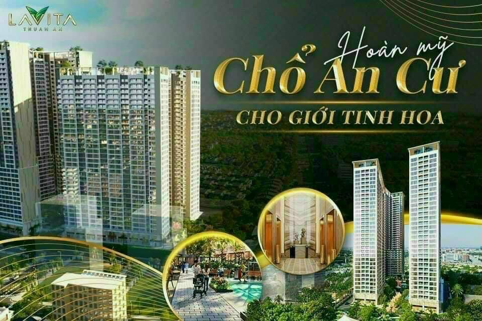 Cập nhật tiến độ dự án Lavita Thuận An  tháng 7