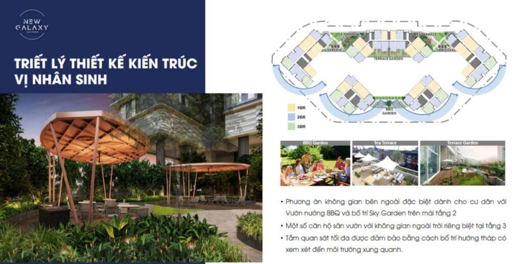 thiết kế kiến trúc New Galaxy Nha Trang